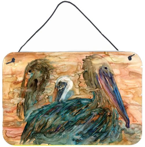 Buy this Abstract Pelicans Wall or Door Hanging Prints 8977DS812