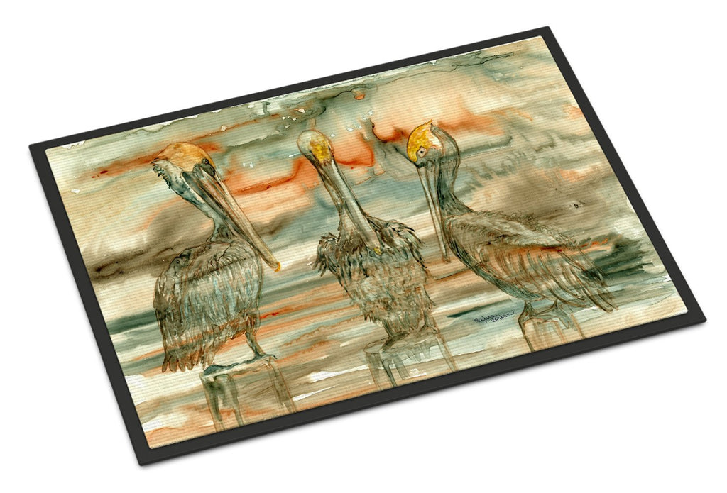 Buy this Pelicans on their perch Abstract Indoor or Outdoor Mat 18x27 8980MAT