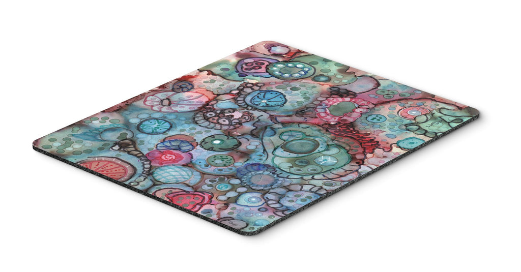 Buy this Abstract in Reds and Blues Mouse Pad, Hot Pad or Trivet 8982MP