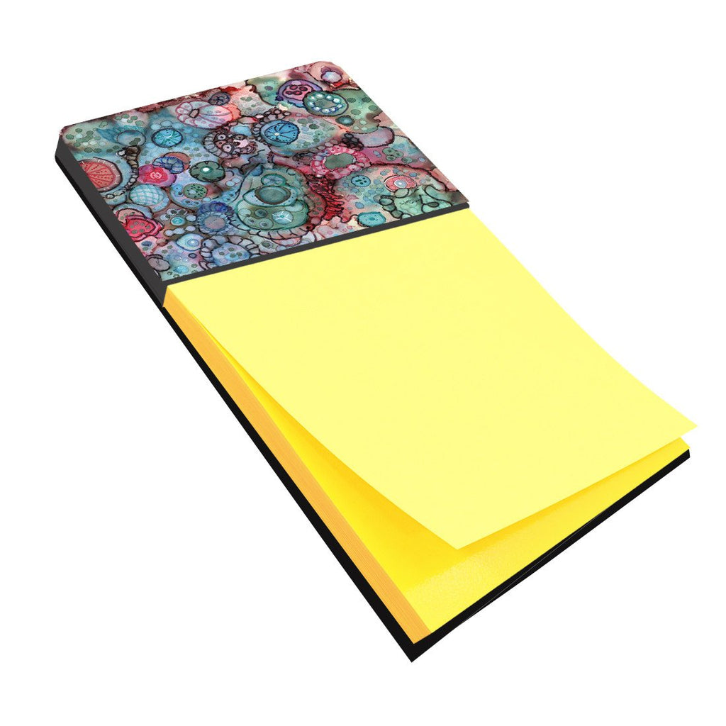 Buy this Abstract in Reds and Blues Sticky Note Holder 8982SN