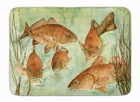 Buy this Red Fish Swim Machine Washable Memory Foam Mat 8983RUG