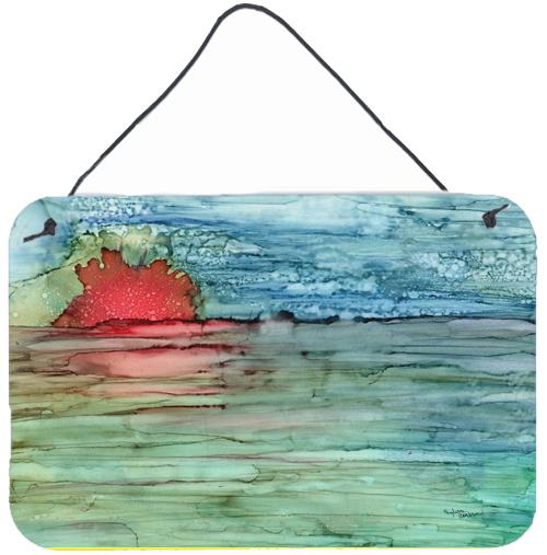 Buy this Abstract Sunset on the Water Wall or Door Hanging Prints 8984DS812