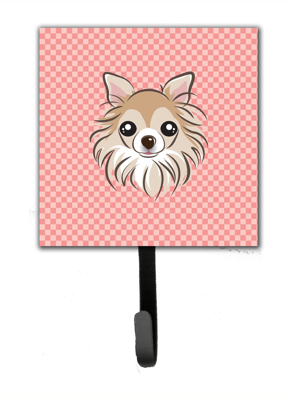 Checkerboard Pink Chihuahua Leash or Key Holder BB1251SH4 by Caroline's Treasures
