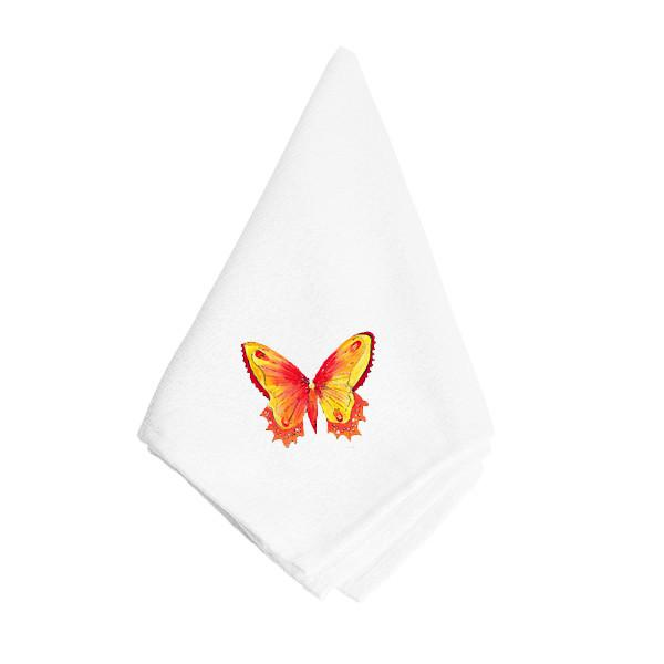 Buy this Orange and Yellow Butterfly Napkin 8857NAP