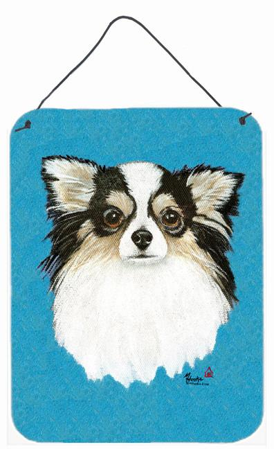 Chihuahua Blue Portrait Wall or Door Hanging Prints MH1029DS1216 by Caroline's Treasures