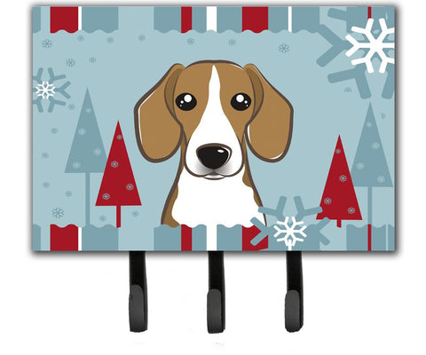 Buy this Winter Holiday Beagle Leash or Key Holder BB1735TH68