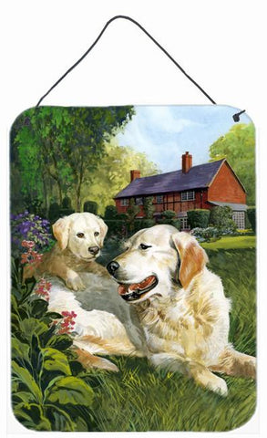 Buy this Yellow Labradors by Don Squires Wall or Door Hanging Prints SDSQ0431DS1216
