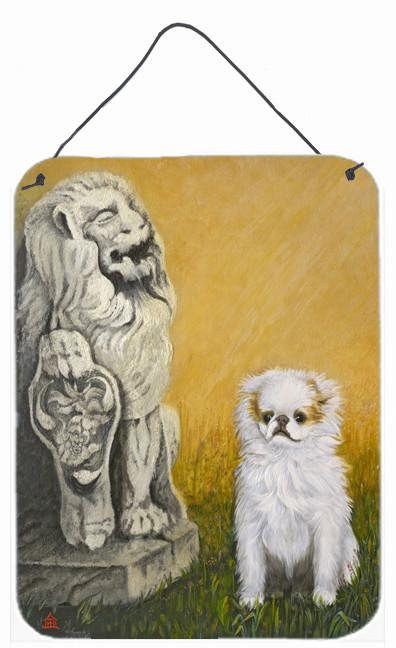 Japanese Chin Omar Wall or Door Hanging Prints MH1032DS1216 by Caroline's Treasures