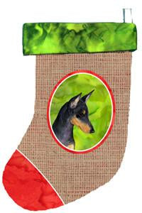 Buy this Manchester Terrier Christmas Stocking SS2014