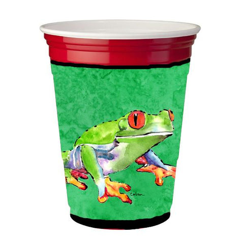 Buy this Frog  Red Solo Cup Beverage Insulator Hugger
