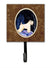 Starry Night Wheaten Terrier Soft Coated Leash Holder or Key Hook by Caroline's Treasures