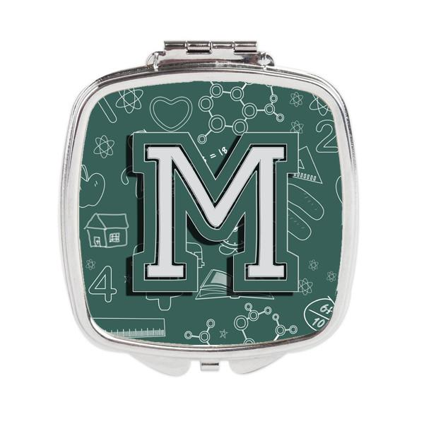 Letter M Back to School Initial Compact Mirror CJ2010-MSCM by Caroline's Treasures