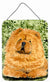 Chow Chow Aluminium Metal Wall or Door Hanging Prints by Caroline's Treasures