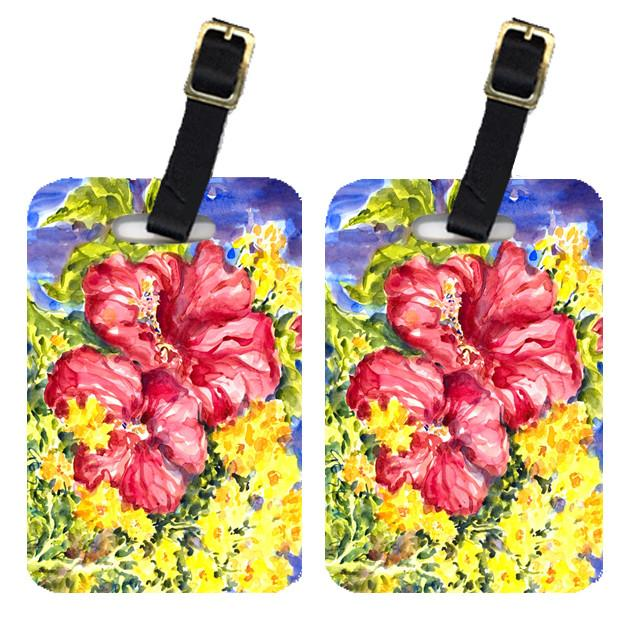 Buy this Pair of 2 Flower - Hibiscus Luggage Tags
