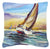 Buy this Horn Island Boat Race Sailboats Canvas Fabric Decorative Pillow JMK1237PW1414