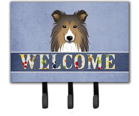 Buy this Sheltie Welcome Leash or Key Holder BB1428TH68