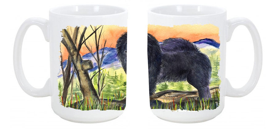 Buy this Chow Chow Dishwasher Safe Microwavable Ceramic Coffee Mug 15 ounce SS7005CM15