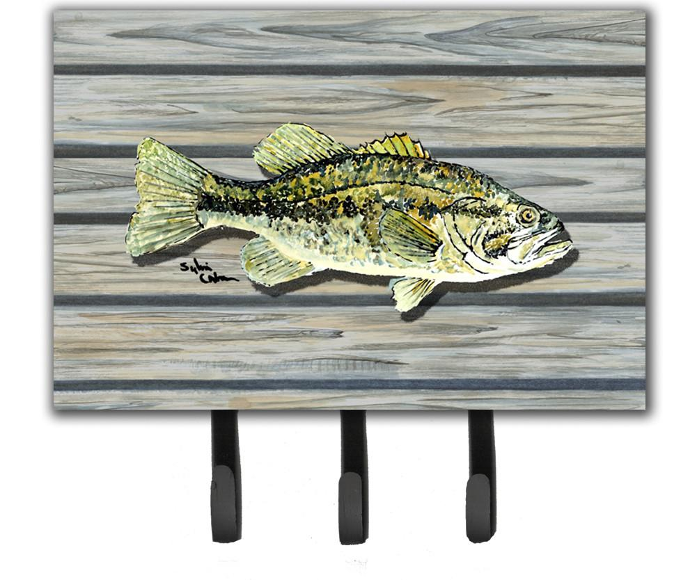 Fish Bass Small Mouth Leash or Key Holder by Caroline's Treasures
