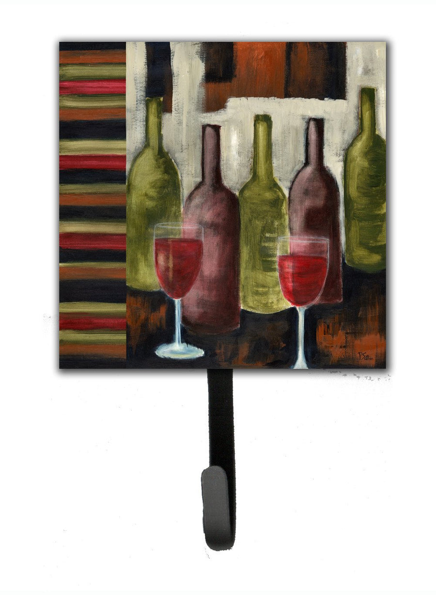 Buy this Red Wine by Petrina Sutton Leash or Key Holder PET216ASH4