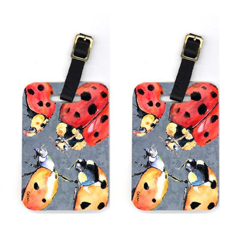 Buy this Pair of Lady Bug Multiple Luggage Tags