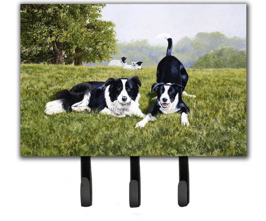 Buy this Let's Play Border Collie Leash or Key Holder FRF0014TH68