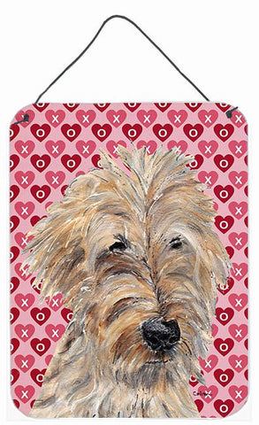 Buy this Goldendoodle Valentine's Love Aluminium Metal Wall or Door Hanging Prints