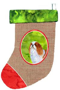 Buy this English Toy Spaniel Christmas Stocking SS2069