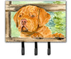 Dogue de Bordeaux Leash Holder or Key Hook by Caroline's Treasures