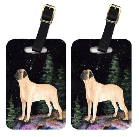 Buy this Starry Night Anatolian Shepherd Luggage Tags Pair of 2