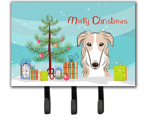 Buy this Christmas Tree and Borzoi Leash or Key Holder BB1600TH68
