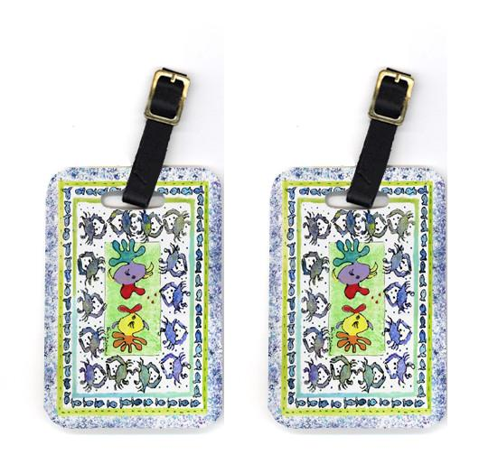 Buy this Pair of Kissing Fish Luggage Tags
