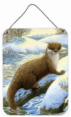 Buy this Otter on the bank Wall or Door Hanging Prints ASA2050DS1216
