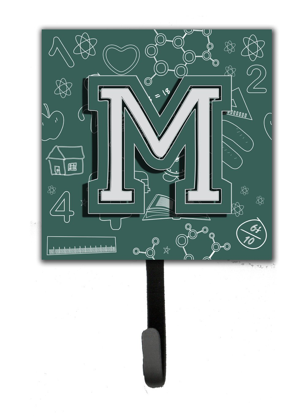Letter M Back to School Initial Leash or Key Holder CJ2010-MSH4 by Caroline's Treasures