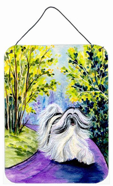 Buy this Tibetan Terrier Aluminium Metal Wall or Door Hanging Prints
