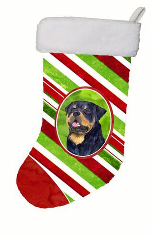 Buy this Rottweiler Winter Snowflakes Christmas Stocking SS4593