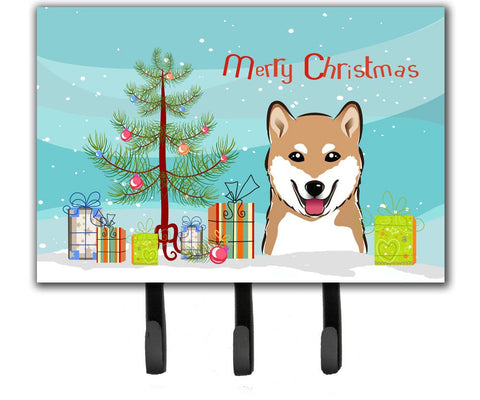 Buy this Christmas Tree and Shiba Inu Leash or Key Holder BB1597TH68