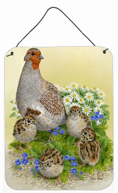 Buy this Partridge and Chicks Wall or Door Hanging Prints ASA2162DS1216