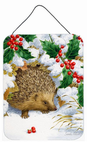 Buy this Hedgehog and Holly Wall or Door Hanging Prints ASA2030DS1216