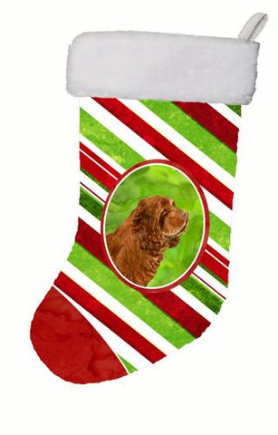 Buy this Sussex Spaniel Winter Snowflakes Christmas Stocking SS4579