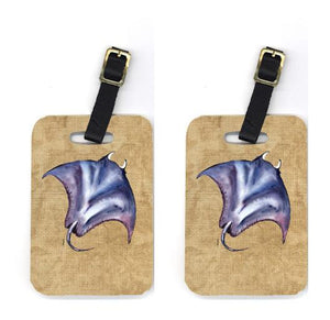 Buy this Pair of Stingray Luggage Tags