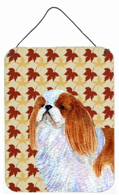 Buy this English Toy Spaniel Fall Leaves Portrait Wall or Door Hanging Prints