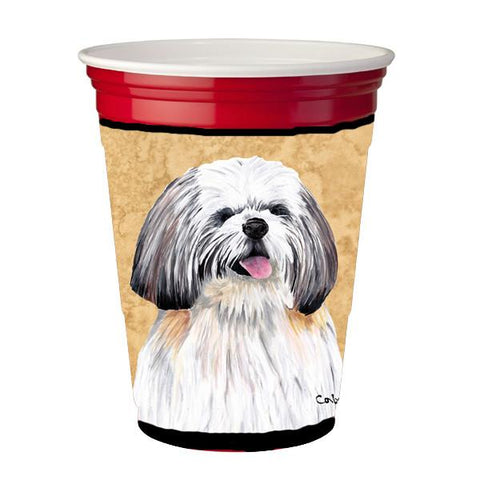 Buy this Shih Tzu Red Solo Cup Beverage Insulator Hugger