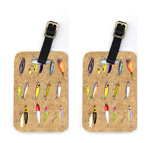 Buy this Pair of Fishing Lures Luggage Tags
