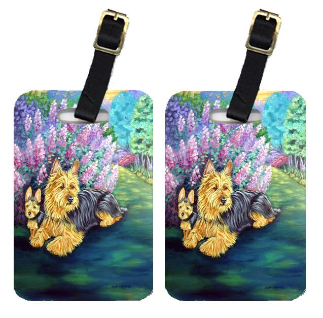 Buy this Pair of 2 Australian Terrier Luggage Tags