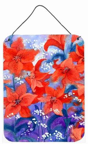 Buy this Lillies Wall or Door Hanging Prints IBD0257DS1216