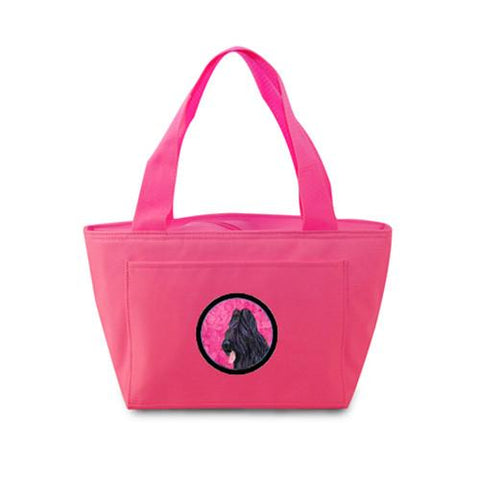 Buy this Pink Briard  Lunch Bag or Doggie Bag SS4765-PK
