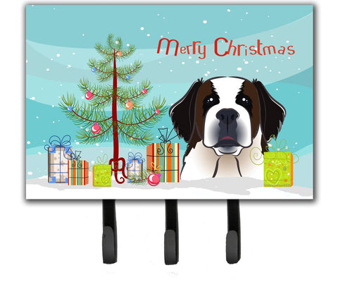 Buy this Christmas Tree and Saint Bernard Leash or Key Holder BB1618TH68