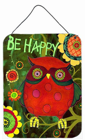 Buy this Be Happy Oh Yeah Owl Wall or Door Hanging Prints PJC1027DS1216