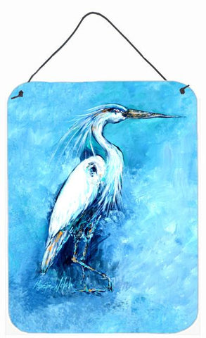 Buy this Standing Gaurd Egret Wall or Door Hanging Prints MW1202DS1216