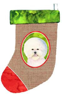 Buy this Bichon Frise Christmas Stocking SS2033